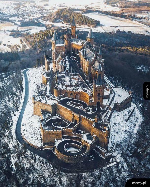 Zamek Hohenzollern w Niemczech