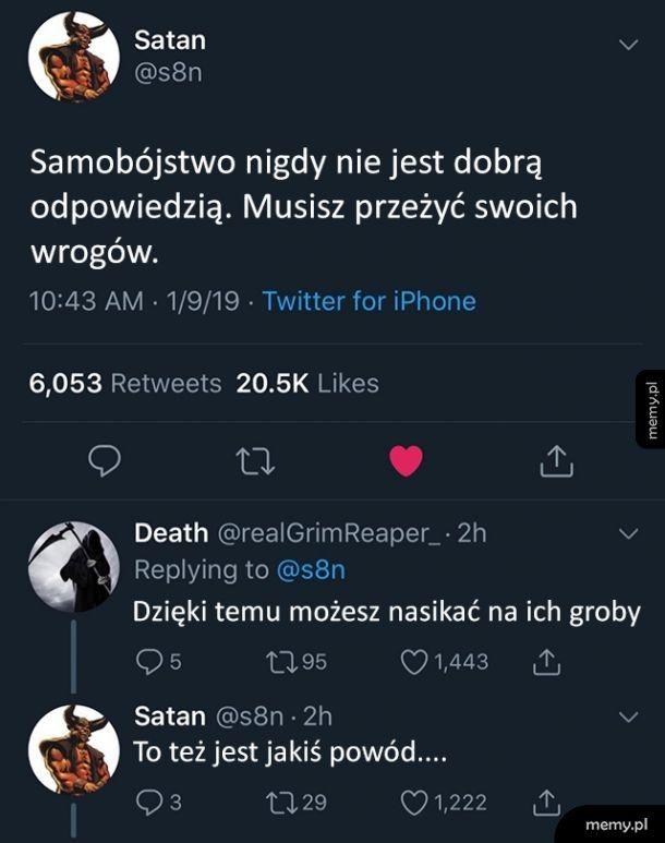 Dobra rada od Szatana