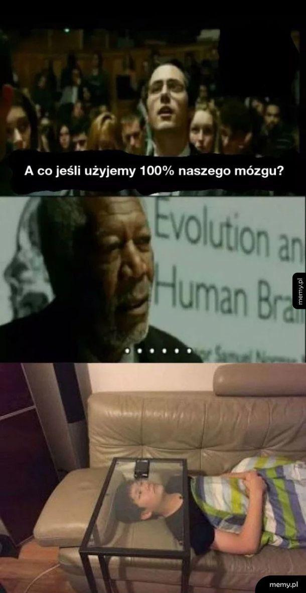 Co jeśli użyjemy 100% naszego mózgu