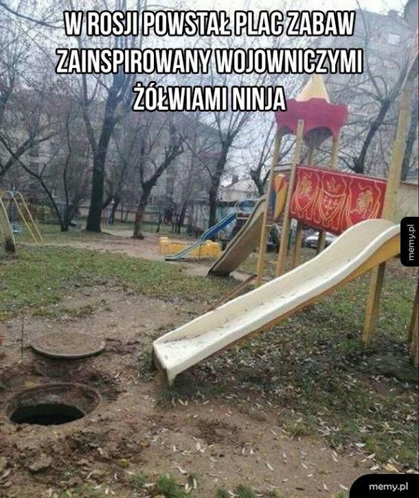 Plac zabaw w Rosji