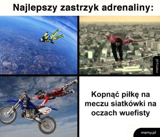 Zastrzyk adrenaliny