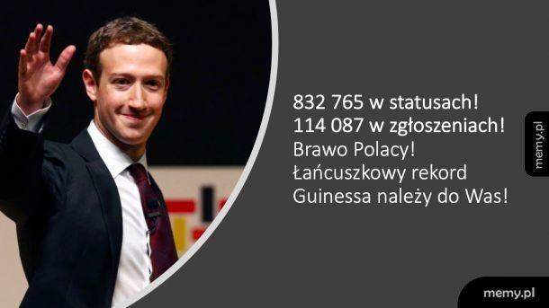 A Ty? Czy zgłosiłeś już swoje oświadczenie na FB?