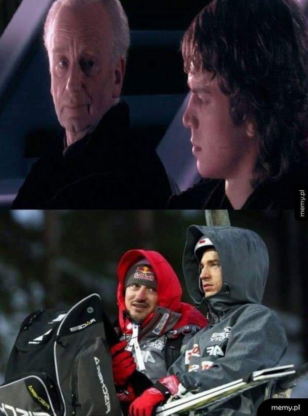 Dwóch zawsze ich jest, mistrz i uczeń