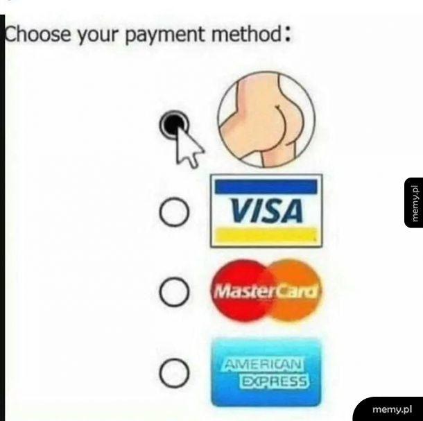 Nowy sposób płatności na insta.