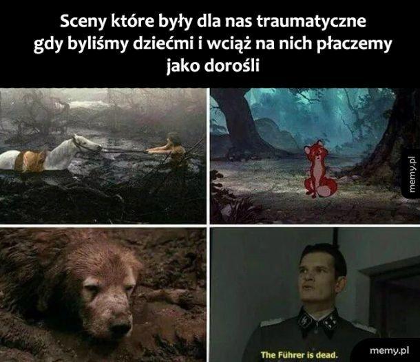 Traumatyczne sceny
