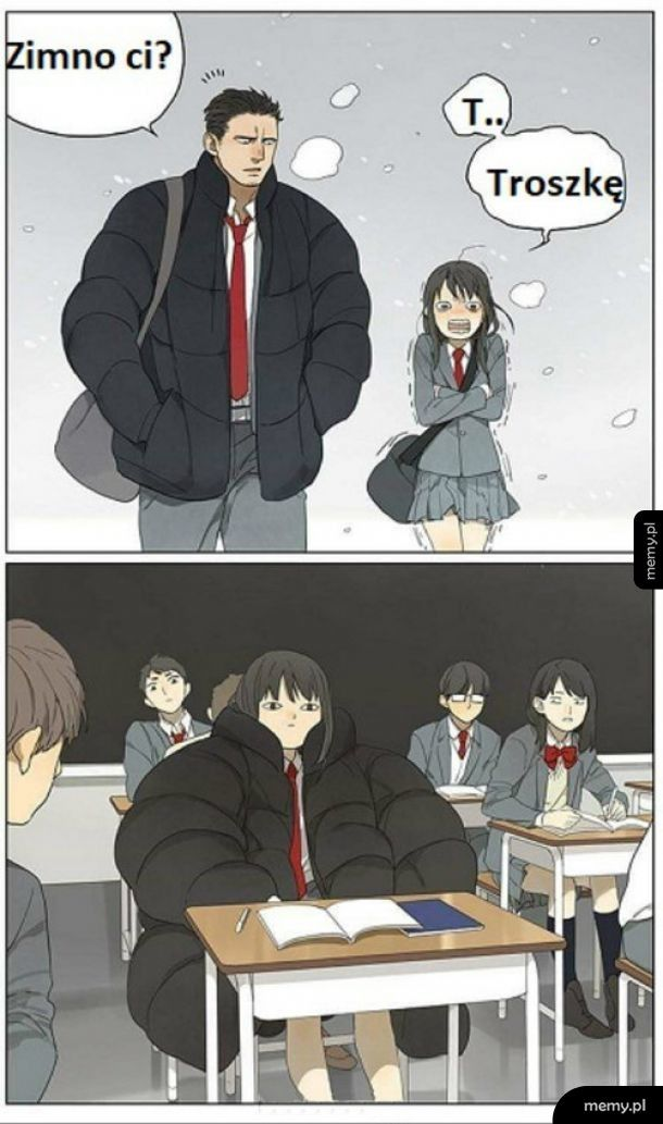 Kiedy chłopak pożyczy ci kurtkę