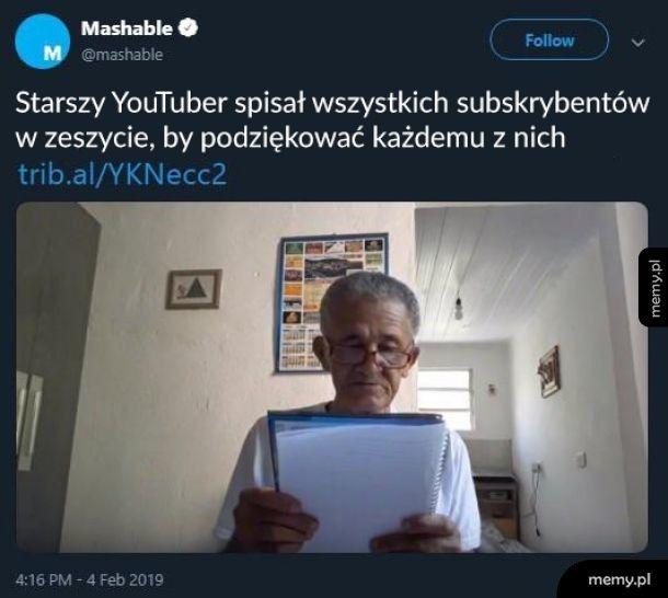 Najlepszy YouTuber