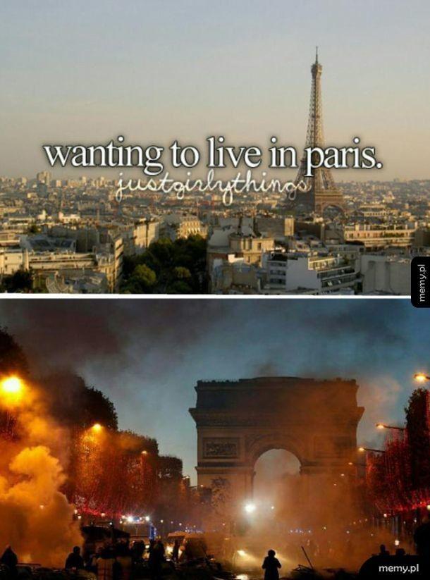 Życie w Paryżu takie piękne