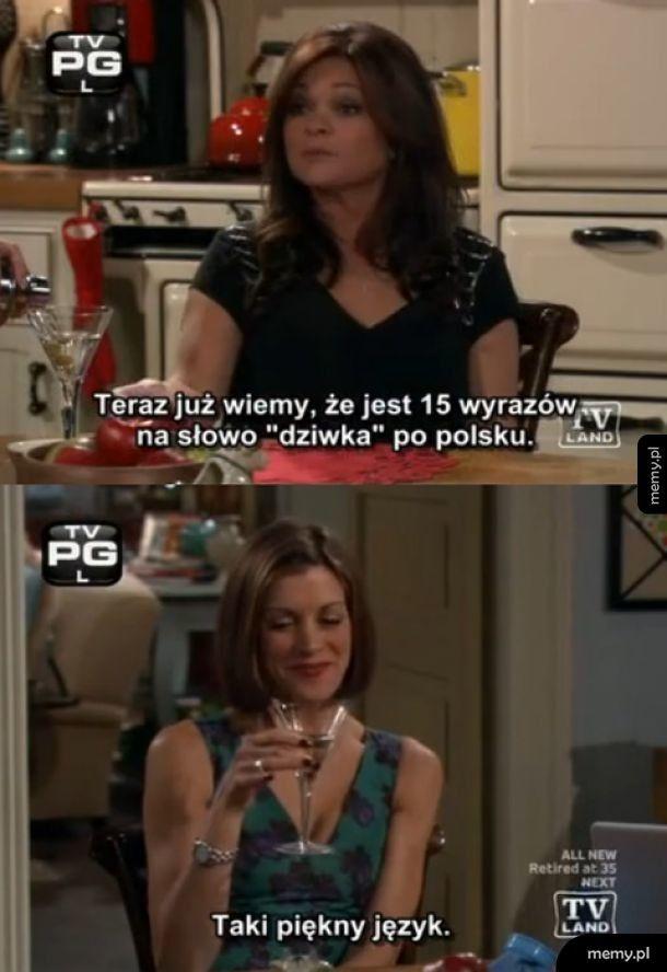 Polski piękny język