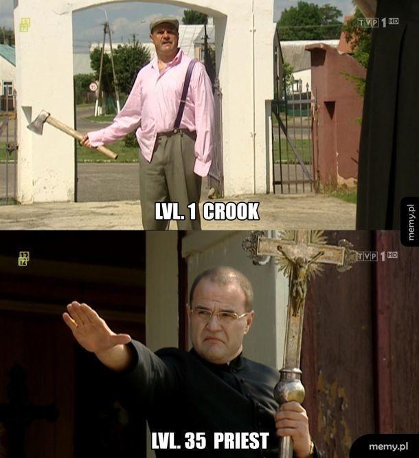 Lvl. 1 Crook