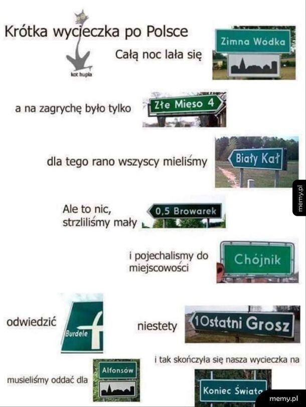 Wycieczka po Polsce