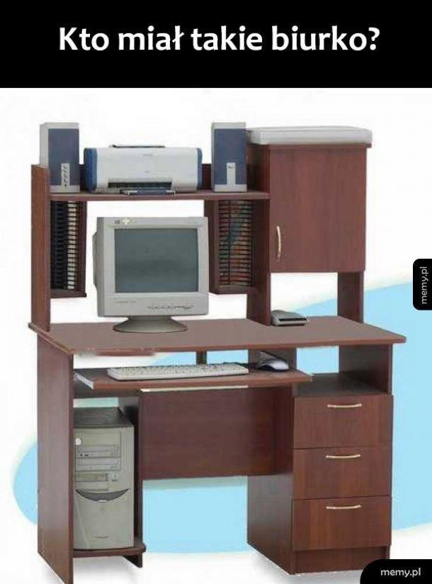 Wspaniałe biurko