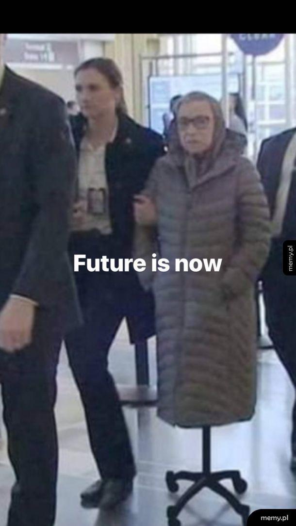 Futur is now