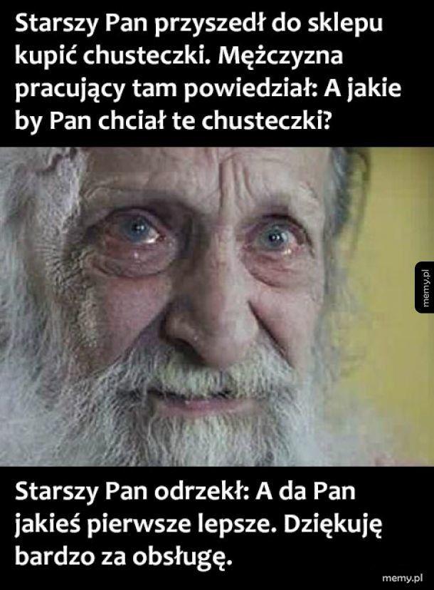 Starszy pan
