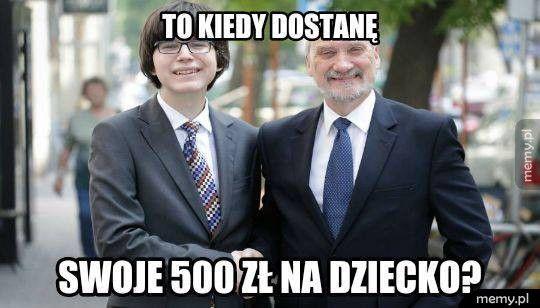 500 zł na dziecko
