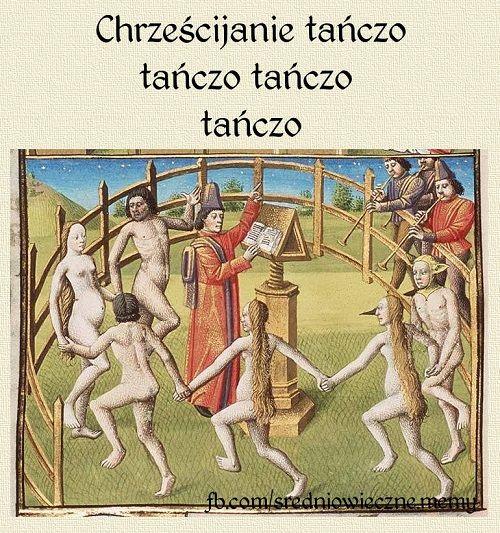 Chrześcijanie tańczo