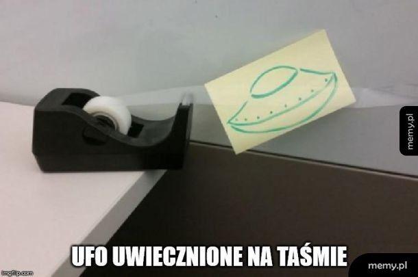 UFO uwiecznione na taśmie