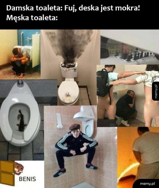 Męska toaleta