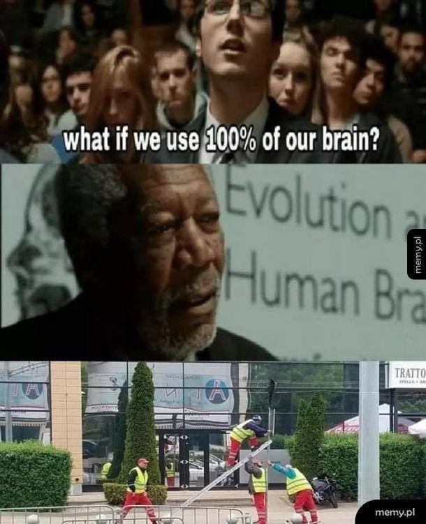 100% mozliwości mózgu