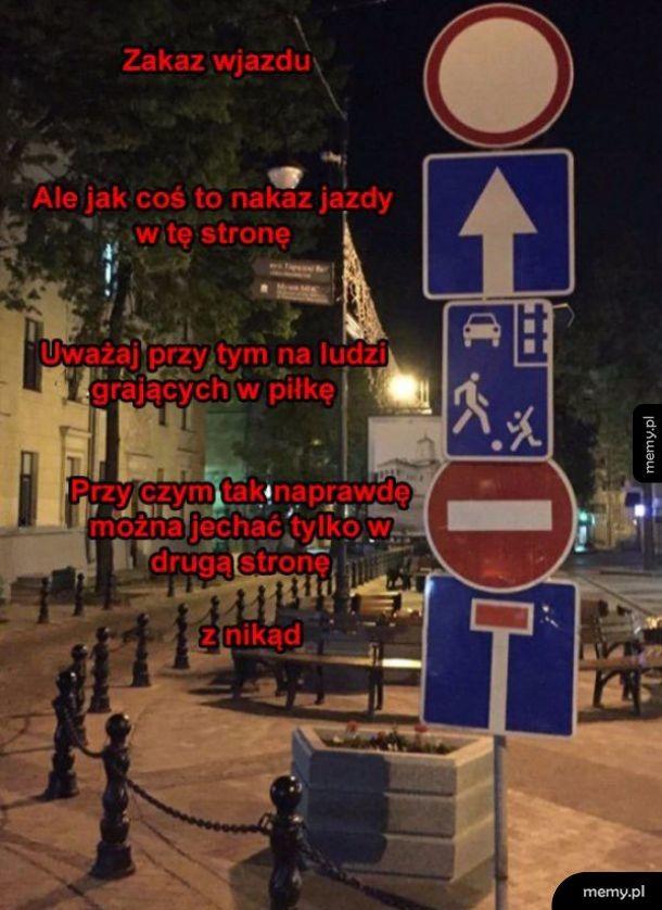 Białoruskie znaki są dziwne
