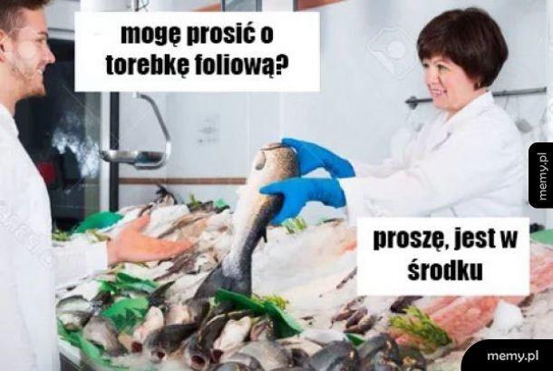 Świeże rybki