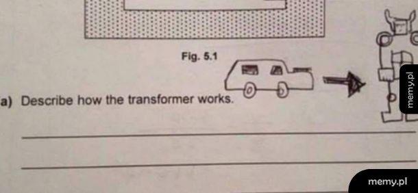Jak działają transformersy