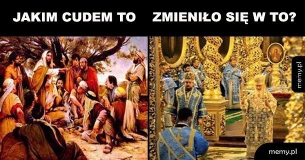 Ewolucja kościoła