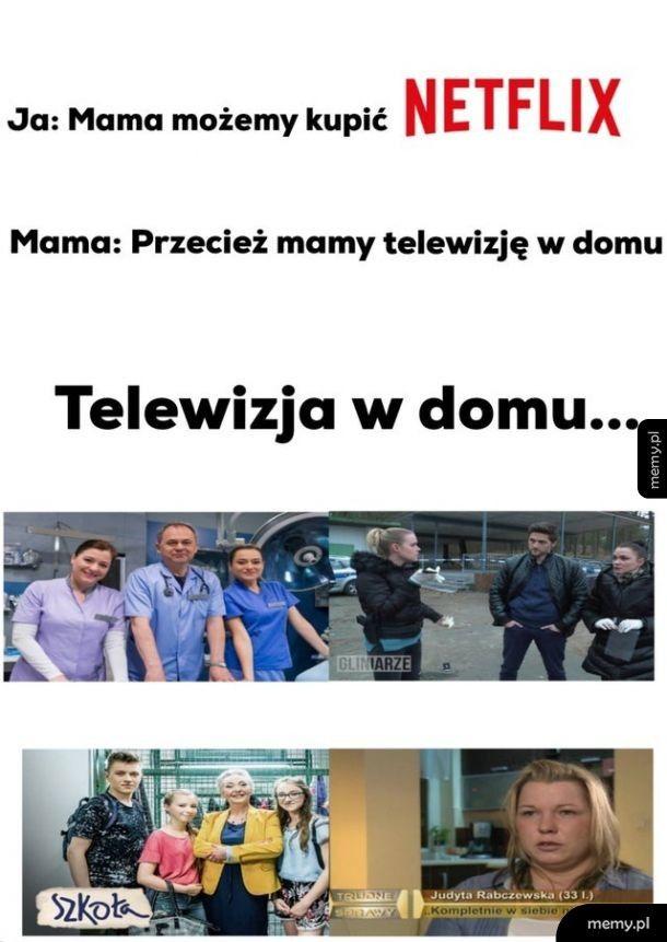 Telewizja w domu