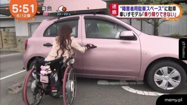 Dlaczego niepełnosprawni potrzebują dużo miejsca na parkingu