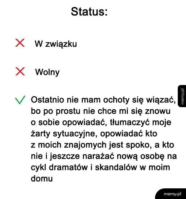 Status związku