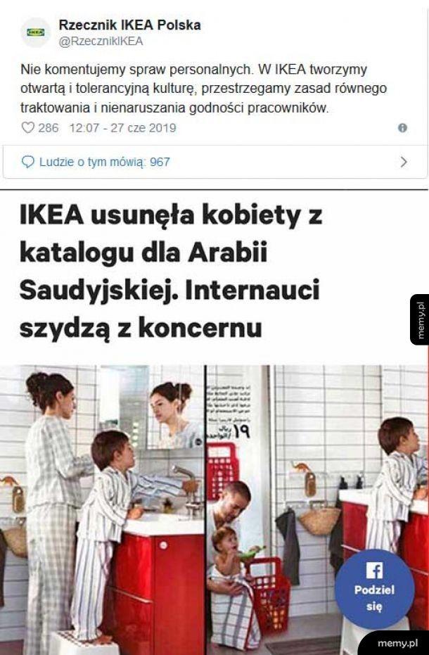 Podwójne standardy IKEA