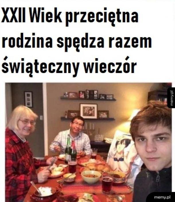 Przeciętna rodzina