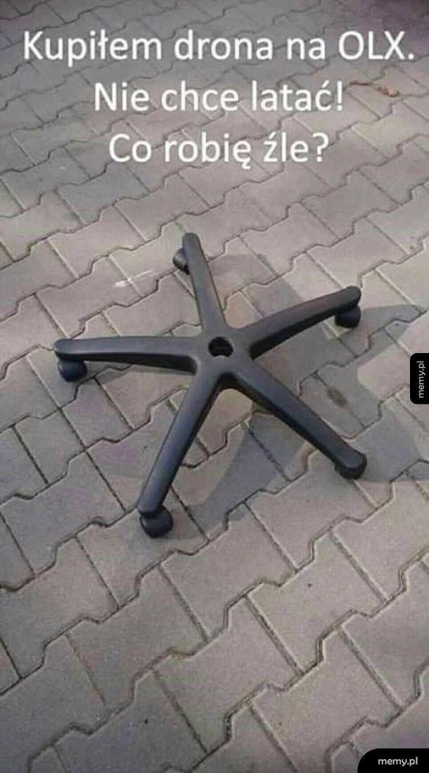Jakiś dziwny ten dron