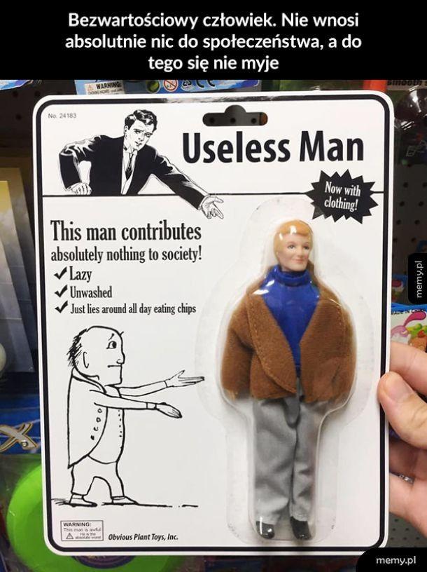 Bezwartościowy człowiek