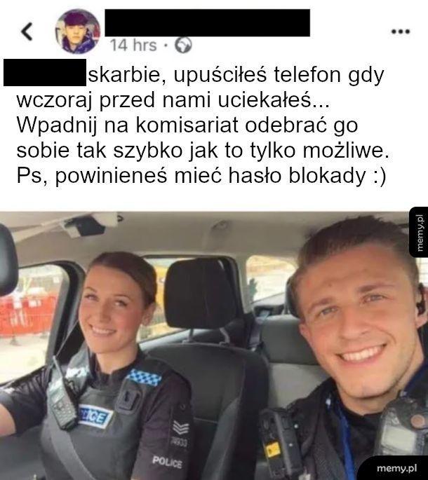 Pozdrowienia z policji