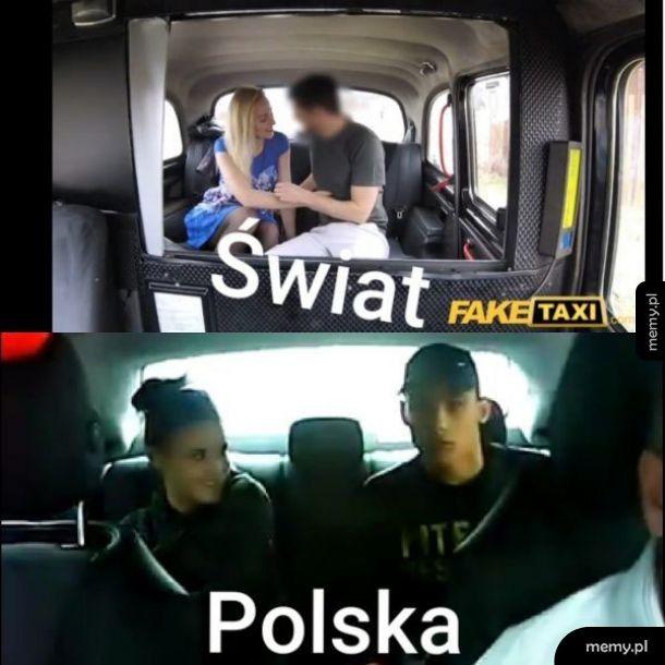 Jaki kraj takie fake-taxi