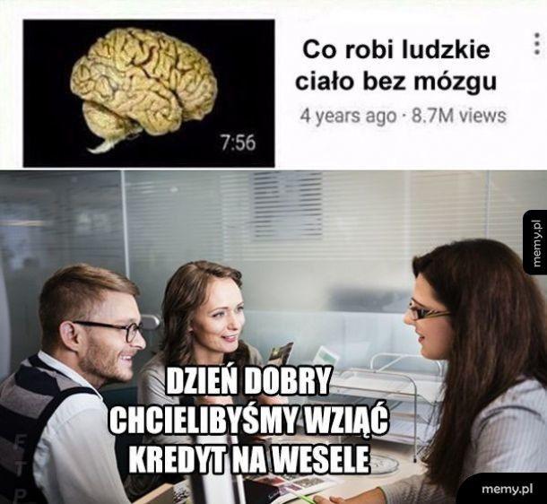 Ludzkie ciało bez mózg