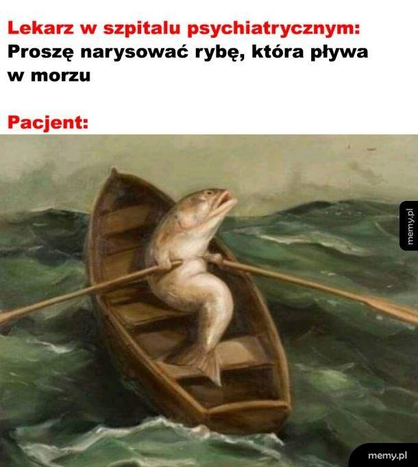 Pływająca ryba