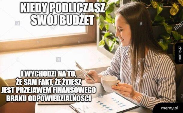 Policzony budżet
