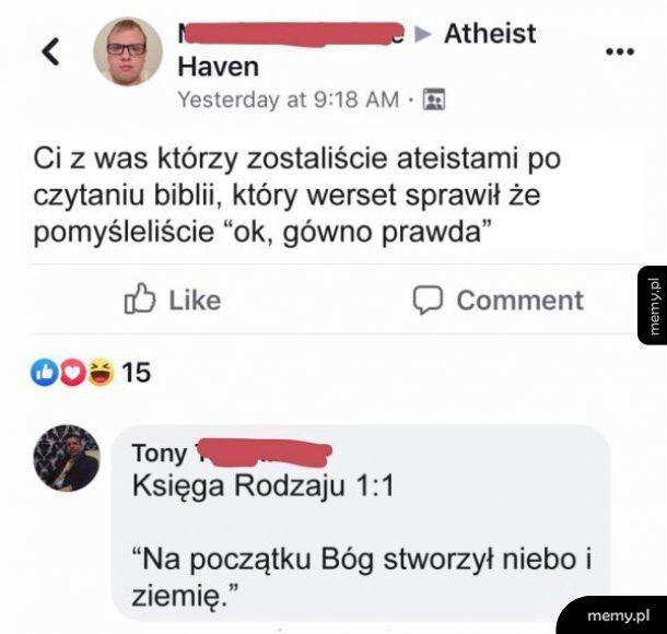 Ateiści