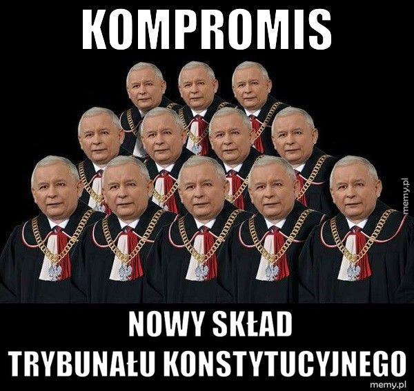 Kompromis                    nowy skład                  Trybunału Konstyt