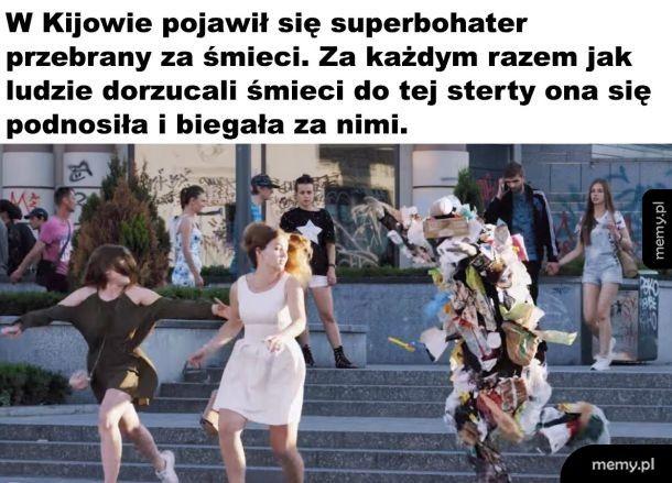 Śmieciowy bohater