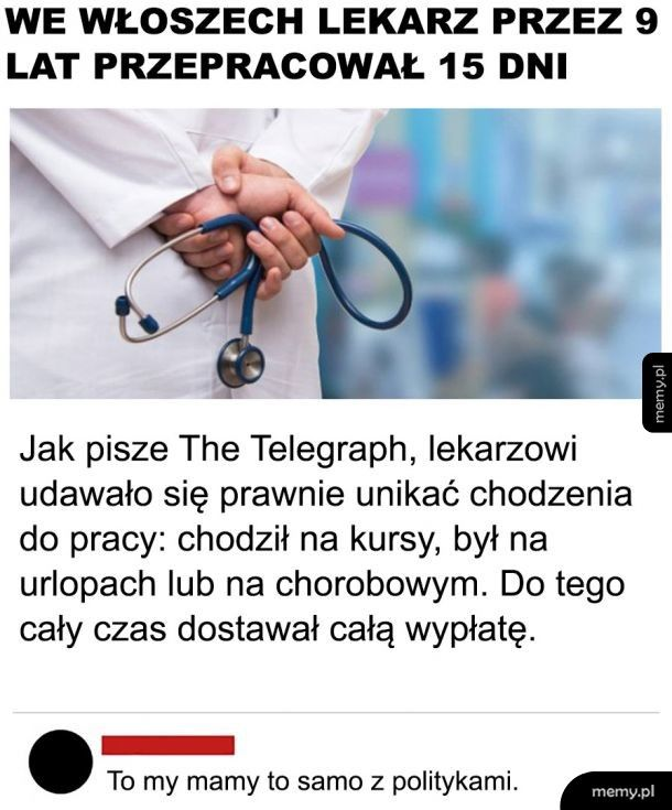 Leniwy lekarz
