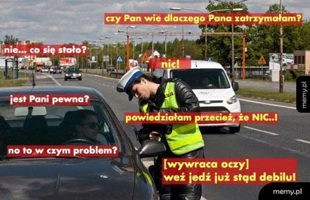 Kobieta policjant