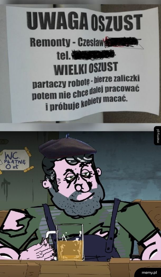 Pan Wieso w akcji