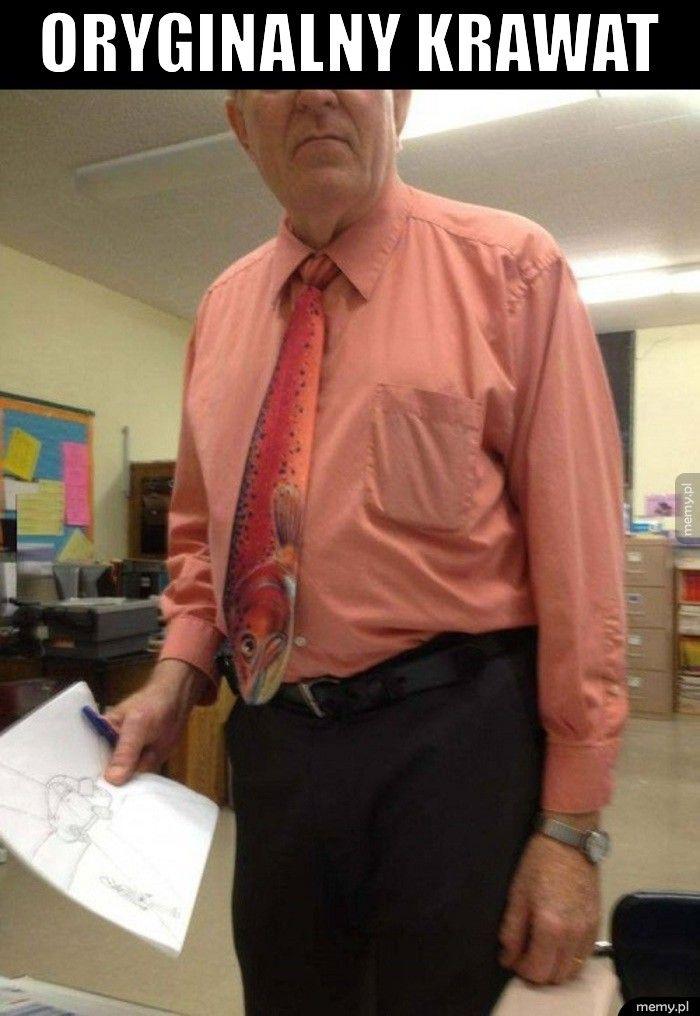 Oryginalny krawat