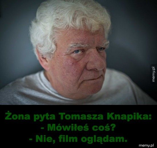 Czytał Tomasz Knapik