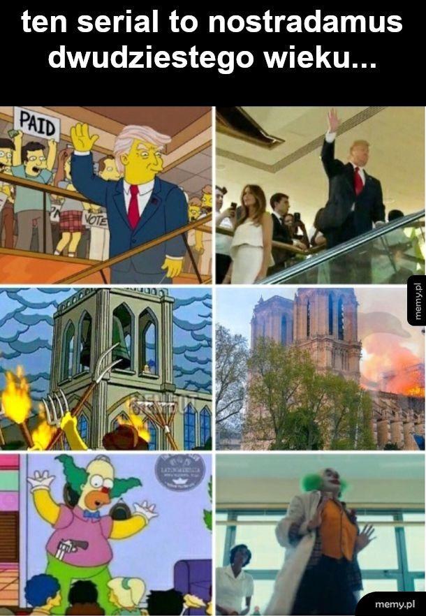 Simpsonowie zatrudniają prekogów