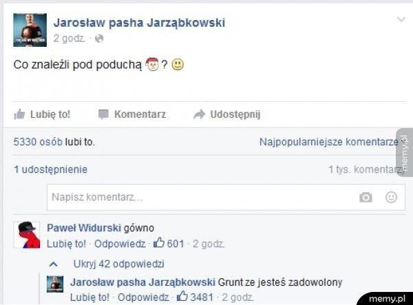 Pasha i jego wierny fan