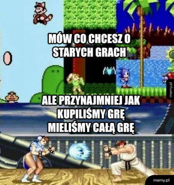 Stare gry